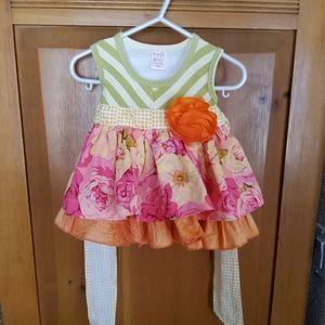 BEYOND EUC Giggle Moon Dress 6 Months